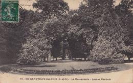 91)  Sainte Geneviève Des Bois (Seine Et Oise) La Cassannerie - Avenue Centrale - Sainte Genevieve Des Bois