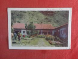 > Guatemala  Casa Contenta Lake Atitlan  Stamp Peeled Off Back   Ref 1441 - Guatemala