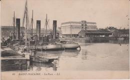 Loire  Atlantique : SAINT  NAZAIRE  : Le  Port  (  Cold  Storage  Ice  Factory ) - Saint Nazaire