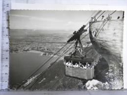 CPSM  (74) Haute Savoie - Le Téléférique De VEYRIER - Vue Générale D'ANNECY - Veyrier