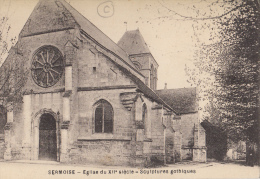 02- Sermoise Eglise Du  12 Siecle  Sculptures Gothiques