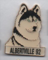 JO Jeux Olympiques Albertville 92 , Chien Husky - Olympic Games