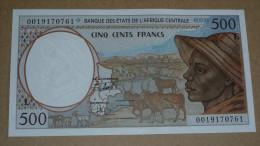BILLET 500 FRANCS GABON - Gabon