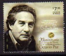 MEXIQUE.Ecrivain Octavio Paz. (Prix Nobel De Littérature En 1990)  Un T-p Neuf **  2010 - Schrijvers