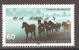 BRD // Mi. 1328 ** - Paarden