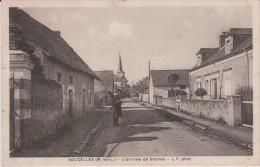 Maine  Et  Loire  :  SOUCELLES  : L'  Arrivée  De   Sèches - Non Classés