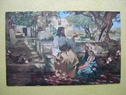 SAINT PETERSBOURG. Le Musée Alexandre III. Le Christ Chez Marthe Et Marie Par H. I. Siemiradzki. - Russie