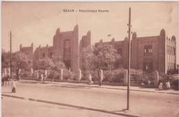 Carte Postale Ancienne AVEC TIMBRE,afrique,SENEGAL,DA KAR EN 1941,hopital,polyclinique Roume,assistance Médical Indigene - Sénégal