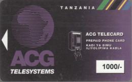 Tanzania - Magnetic - TAN-AM-03 - 1000/- - Rev.2 - Tanzania