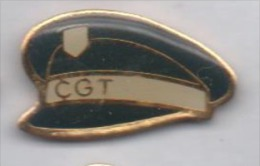 Syndicat CGT , casquette Police