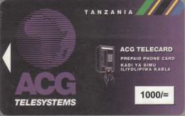 Tanzania - Magnetic - TAN-AM-14 - 1000/= - Rev.2