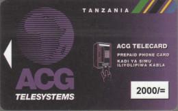 Tanzania - Magnetic - TAN-AM-17 - 2000/= - Rev.3 - Tanzania