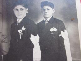 Photo Photographie Originale  Communiant Religion Chretienne;personne En âge De Communier - Photographs