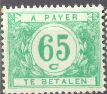 4Gv-512 N° TX56:  X: Met Scharnier - Briefmarken