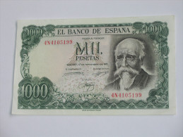 1000 Pesetas - Mil Pestas - ESPAGNE-  17.09.1971. El Banco De ESPANA **** EN ACHAT IMMEDIAT **** - [ 3] 1936-1975 : Regime Di Franco