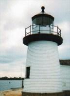 Postcard - Mystic Seaport Lighthouse, Connecticut, USA. A - Lighthouses