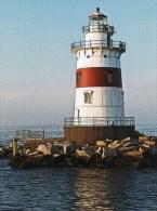 Postcard - Latimer Reef Lighthouse, New York, USA. A - Faros
