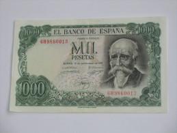 1000 Pesetas - Mil Pestas - ESPAGNE-  17.09.1971. El Banco De ESPANA **** EN ACHAT IMMEDIAT **** - [ 3] 1936-1975 : Regency Of Franco