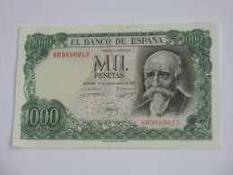 1000 Pesetas - Mil Pestas - ESPAGNE-  17.09.1971. El Banco De ESPANA **** EN ACHAT IMMEDIAT **** - [ 3] 1936-1975 : Régence De Franco