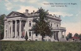 Kentucky Lexington Green Hills Residence Of J B Haggin - Lexington