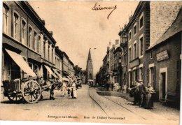 LIEGE   1 CP Jemeppe Sur Meuse   Rue De L'Hôtel Communal - Belgium