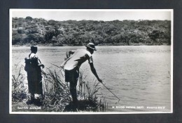 Rhodesia. *Native Angler* Ed. N. Rhod. Infmn. Dept. Photo RN 27. Nueva. - Postales