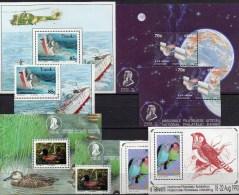 EXPO 1992 Südafrika Ciskei Block 7,8 Transkei Bl.9,12+4xBM** 55€ Space Ms Philatelic Ship Sheet Bird Bf South Africa RSA - Nature