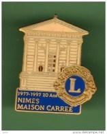 LIONS CLUB *** NIMES MAISON CARREE *** (1044)