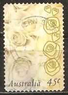 Australie - 1998 - Rose Champagne - YT 1633 Oblitéré - Rose