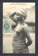 Afrique Occidentale. Etude Nº 102. *Jeune Fille Soussou* Ed. Fortier Nº 1423. Circulada 1910. - Senegal