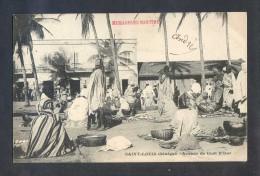 Saint-Louis. *Avenue De Guet N'Dar* Sin Datos. Nueva. Leve Escrito Al Frente De La Postal. - Senegal