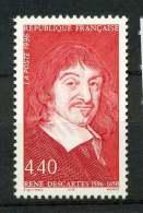 #14-07-00403 - France - 1996 - SG 3316 - MNH - QUALITY:100% - Rene Descartes - France