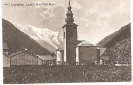 ARGENTIERE L'Eglise Et Le Mont Blanc Carte Neuve N°100 - France