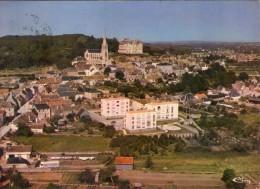 Montfort-le-Rotrou.. Montfort-le-Gesnois.. Belle Vue Aérienne Du Village - Montfort Le Gesnois