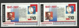 Österreich 1997, Akademie Der Wissenschaft, 2er-Streifen  ANK Nr :2241**/feinst Postfrisch - 1945-.... 2nd Republic
