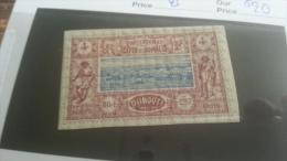 LOT 216703 TIMBRE DE COLONIE COTE SOMALIS NEUF* N�8 VALEUR 20 EUROS