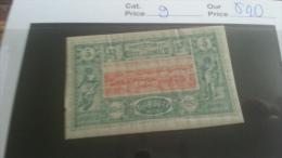 LOT 216704 TIMBRE DE COLONIE COTE SOMALIS NEUF* N�9 VALEUR 20 EUROS