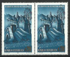 Österreich 1997, E.W. Korngold, 2er-Streifen  2 X 20.-ÖS  ANK Nr :2218**/feinst Postfrisch - 1945-.... 2nd Republic