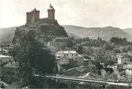 CPM - 09 - FOIX - Le Château Et L'Arget - Foix