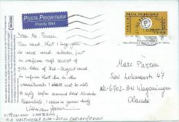 Italy Italia 1999 Milan Stationary Postcard - 1946-.. Republiek