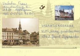 Belgium 2002 Dilbeek Hasselt Stationary Postcard - Souvenir Cards