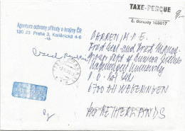 Czech Republic 2003 Prag Unfranked Postage Paid Cover - Lettres & Documents