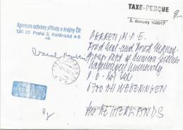 Czech Republic 2003 Prag Unfranked Postage Paid Cover - Tsjechië