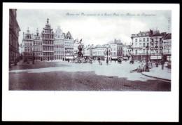 Antwerpen - Grote Markt (1904) - Reproductie Oude Kaart - Antwerpen