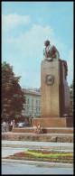 UKRAINE (USSR, 1985). LVIV. The VLADIMIR LENIN MONUMENT. Unused Postcard - Monuments