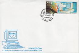 2002-FDC-2 CUBA 2002 FDC  II TALLER DE INFORMATICA DE LA UPAEP. COMUNICACIONES. - FDC