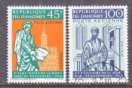 DAHOMEY  C 69-70  (o)   GUTENBERG - Benin - Dahomey (1960-...)