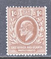 EAST AFRICA AND UGANDA  PROTECTORATES  31  *  Wmk 3 - Kenya, Uganda & Tanganyika