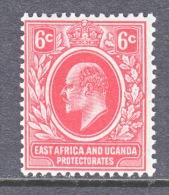 EAST AFRICA AND UGANDA  PROTECTORATES  33 A  REDRAWN    ** - Kenya, Uganda & Tanganyika