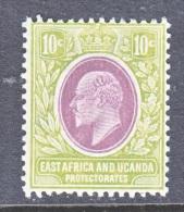 EAST AFRICA AND UGANDA  PROTECTORATES  34  * - Kenya, Uganda & Tanganyika